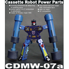 CDMW-07a Cassette Robot Power Parts - Frenzy