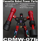CDMW-07b Cassette Robot Power Parts - Rumble