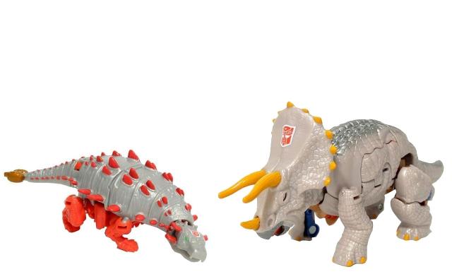Universe - Dinobots - Triceradon & Slapper - Loose 100% Complete
