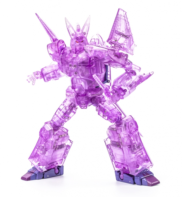Xtransbots - MX-III Eligos - Limited Edition Clear Version