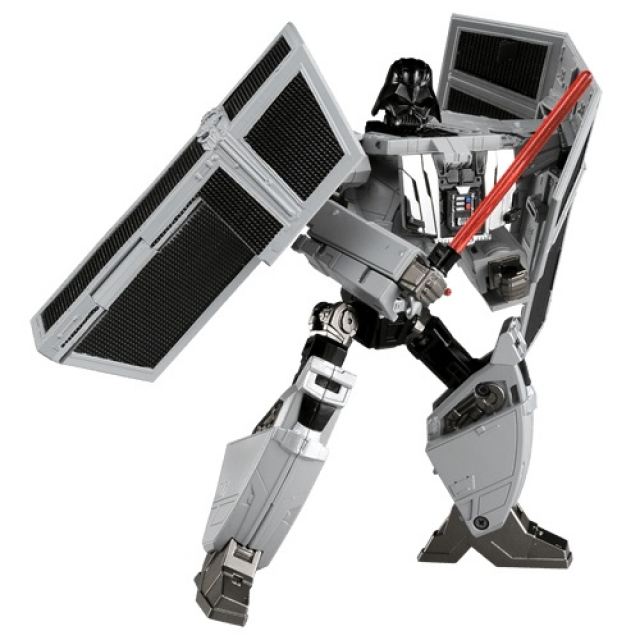 Star Wars Powered by Transformers - Tie Advanced X1