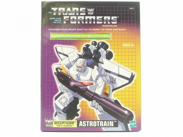 Reissue Commemorative Series Astrotrain - MIB