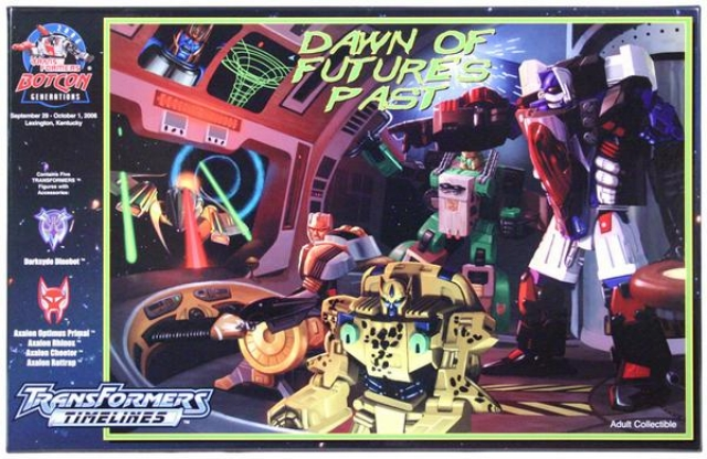 Botcon 2006 - Dawn of Futures Past - Convention Boxed Set - MIB