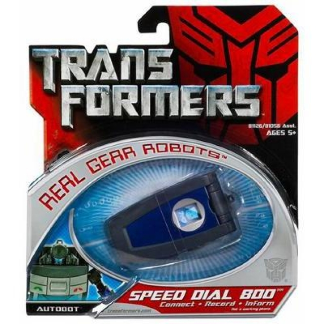 TFTM - Real Gear Robots - Speed Dial 800 - MOC