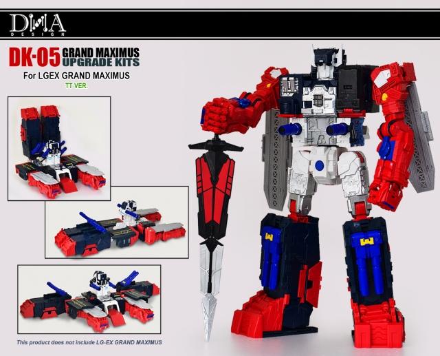 DNA Design - DK-05 - Grand Maximus Upgrade Kit
