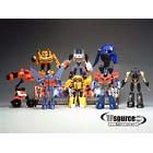 Japanese Transformers Animated - EZ Collection Volume 03 - Complete Set of 8