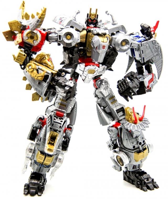 Volcanicus Dinobot Combiner Set of 6 Figures | Transformers Power of the Primes
