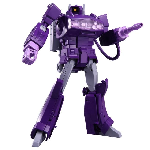Transformers Masterpiece MP-29+ Shockwave - Laserwave - G1 Toy Color Version
