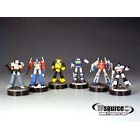 Kabaya - Transformers Bottle Cap Collection - Set of 6