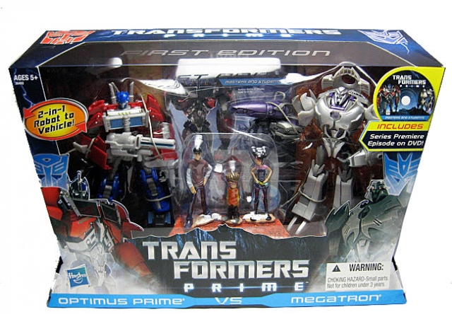 Transformers Prime Entertainment Pack - First Edition - MIB
