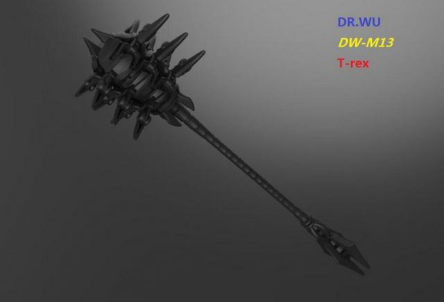 DR. Wu - DW-M13 - T-rex - Black Version