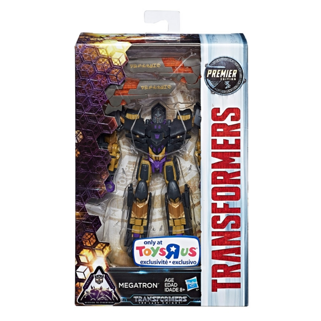 Transformers The Last Knight Premier - Deluxe Megatron - MISB
