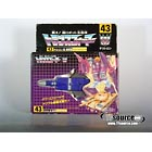 Japanese G1 - D-43 Blitzwing - MISB