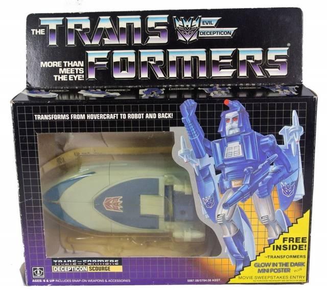 Transformers G1 - Scourge - MIB