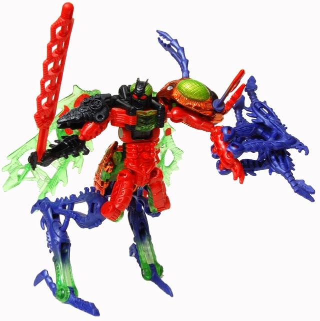 Beast Wars - Deluxe Transmetal 2 - Scourge - MOC