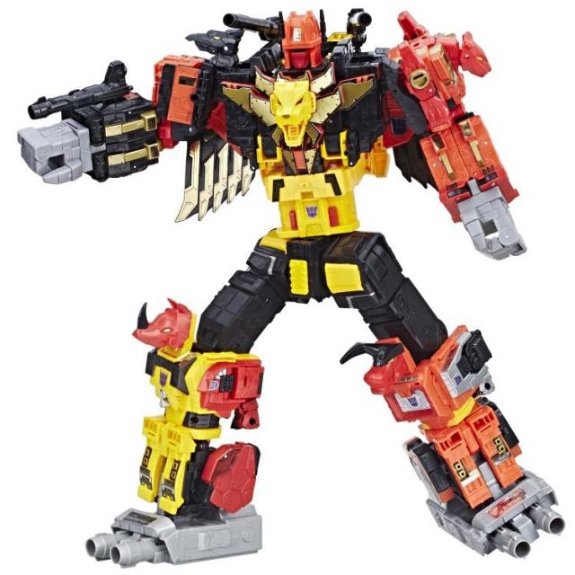 Transformers Power of the Primes - Predaking - set of 5