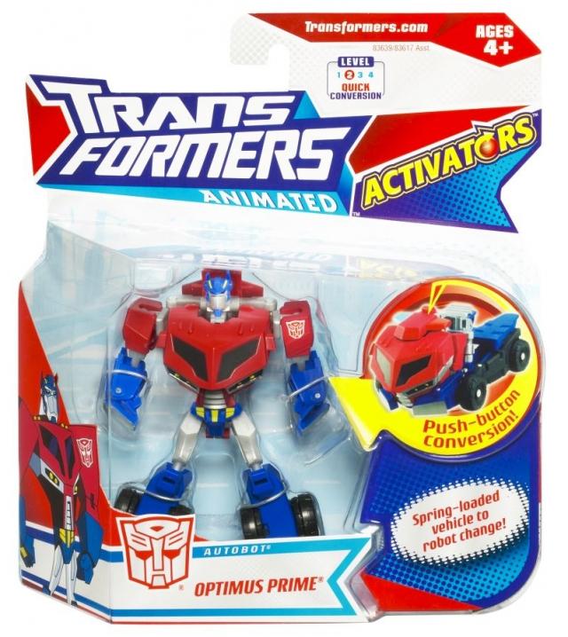 Transformers Animated - Activators - Optimus Prime - MOSC