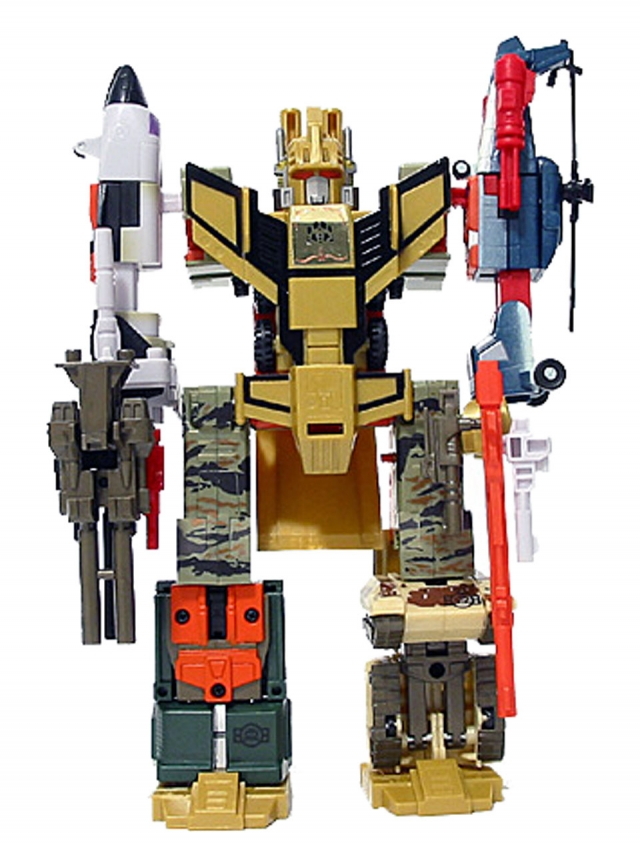 Car Robots - D-011 Baldigus (Ruination) - Loose 100% Complete
