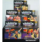 Japanese G1 - Predacons - Complete Set - MISB