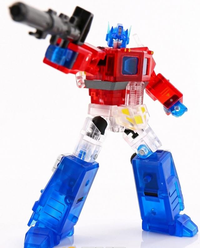 Transformers DX9 Toys War in Pocket X34T MOSES Transparent Optimus Prime