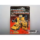 Transformers G1 Carded - Series 2 Yellow Bumblebee - MOSC