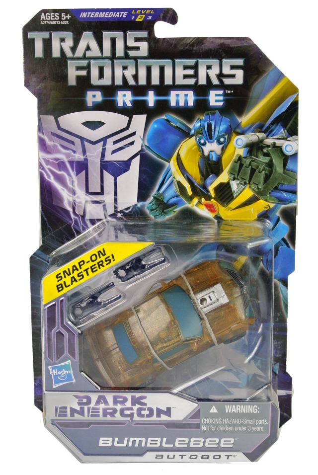 Transformers Prime - Dark Energon Bumblebee - MOC