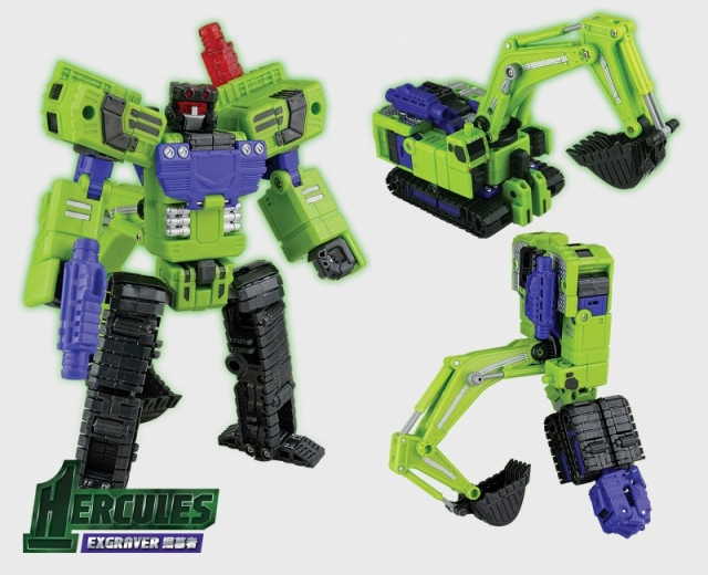 TFC Toys - Hercules - Exgraver - 2nd Release - MIB