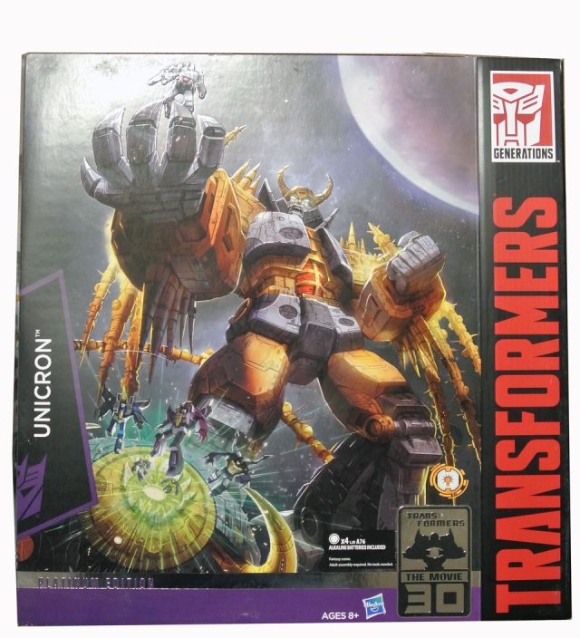 Transformers Limited Edition Unicron - with Kranix - MISB
