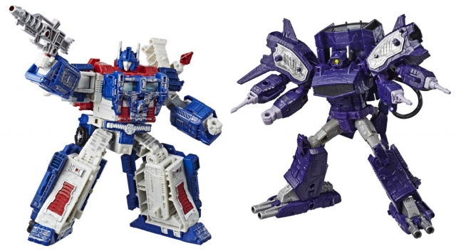 Transformers War for Cybertron Siege: Leader Wave 1 Set of 2