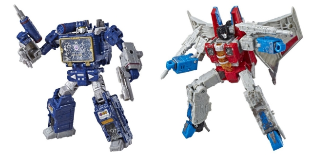 Transformers War for Cybertron: Siege Voyager Class Wave 2 - Set of 2