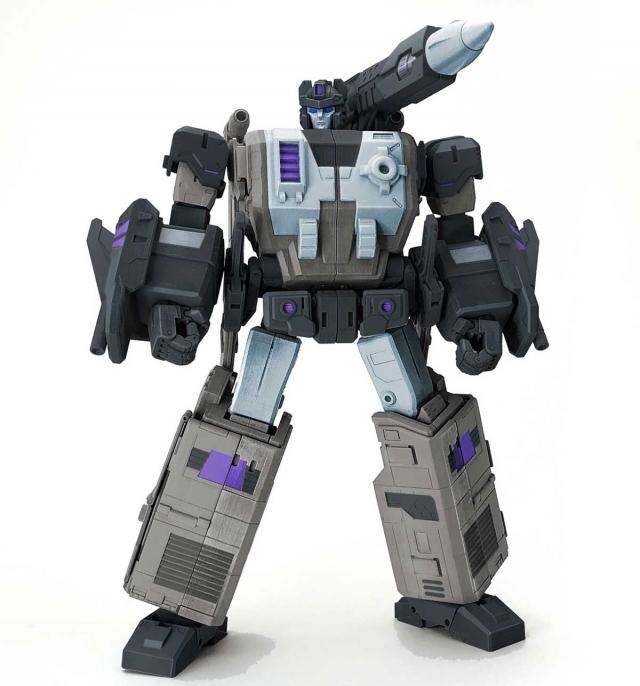 Fans Hobby - Master Builder - MB-11A Black God Armor