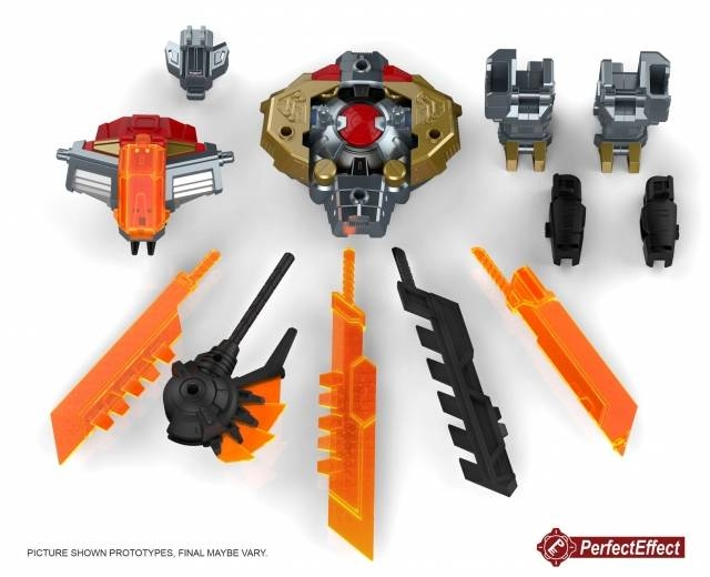 PC-23 Perfect Effect - Perfect Combiner - POTP Dinobots Volcanicus Add on Set - MIB