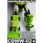 CDMW-02* Construction Brigade Power Parts - MOC