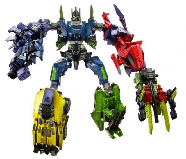 Transformers 2012 - Generations - Bruticus Set of 5 - MOC