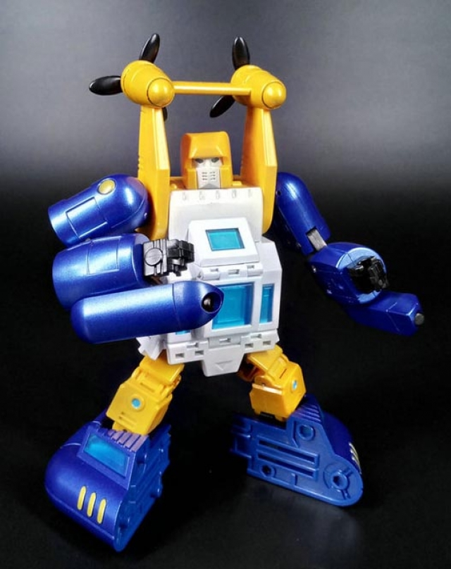 New Transformers Toys Zeta EX-08 Deepsea G1 Seaspray Metallic color figure