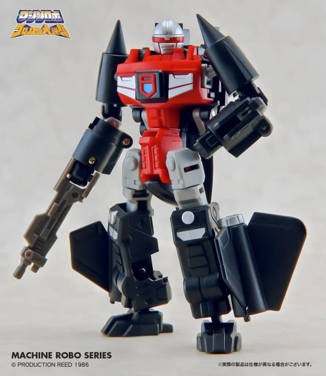 Machine Robo - MR-06 Blackbird Robo - MIB