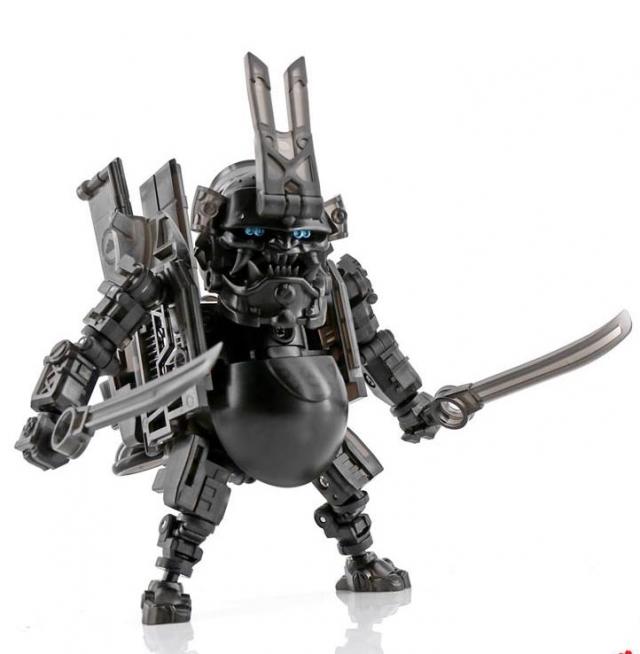 Toywolf - TW W-01 - Dirty Man Clear Black - Limited Edition