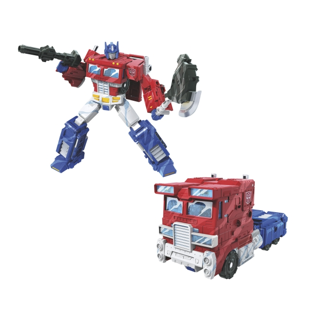 Transformers War for Cybertron: Siege Voyager Class Classic Animation Optimus Prime