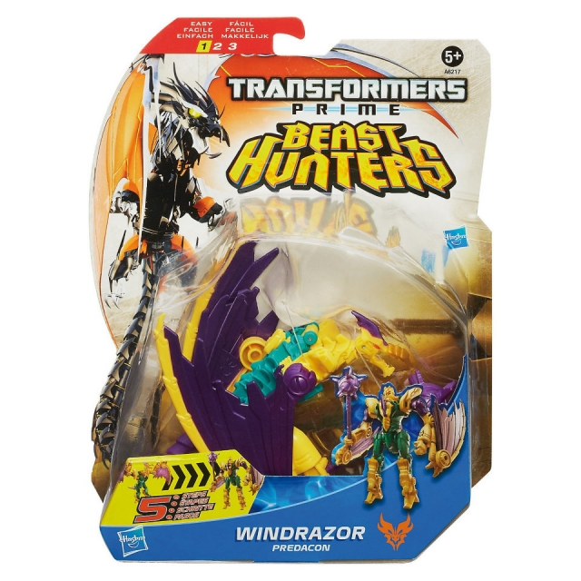 Beast Hunters - Transformers Prime - Deluxe Windrazor - MOSC