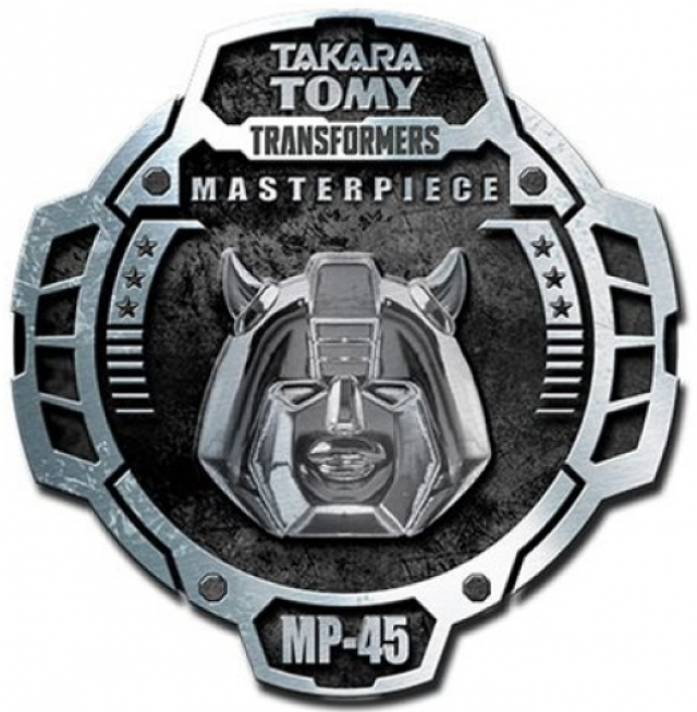 Transformers Masterpiece MP-45 Bumblebee Pin | Version 2.0
