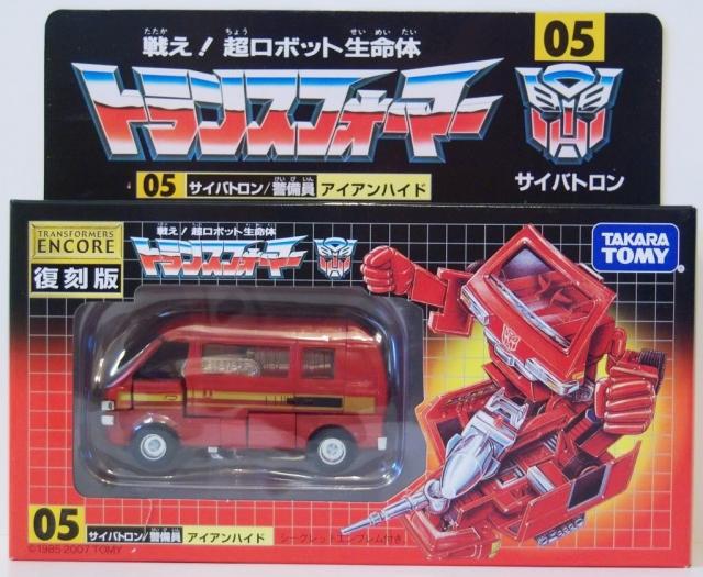 Transformer G1 Reissue Series - Encore #05 Ironhide - MISB