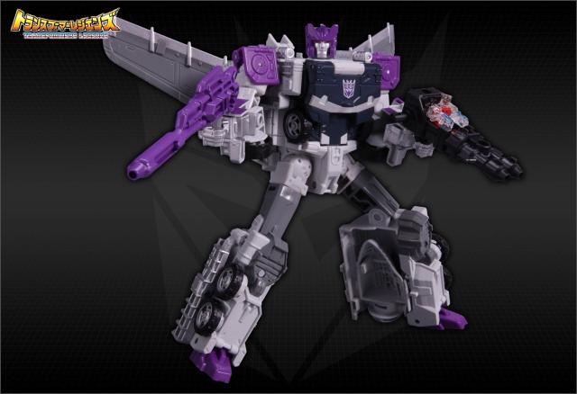 Transformers Legends Series - LG57 Octane - MISB