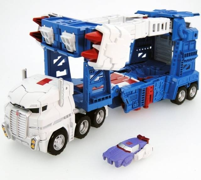 Transformers - Legends - LG14 Ultra Magnus w/ Alpha Trion Mini Figure - Loose 100% Complete