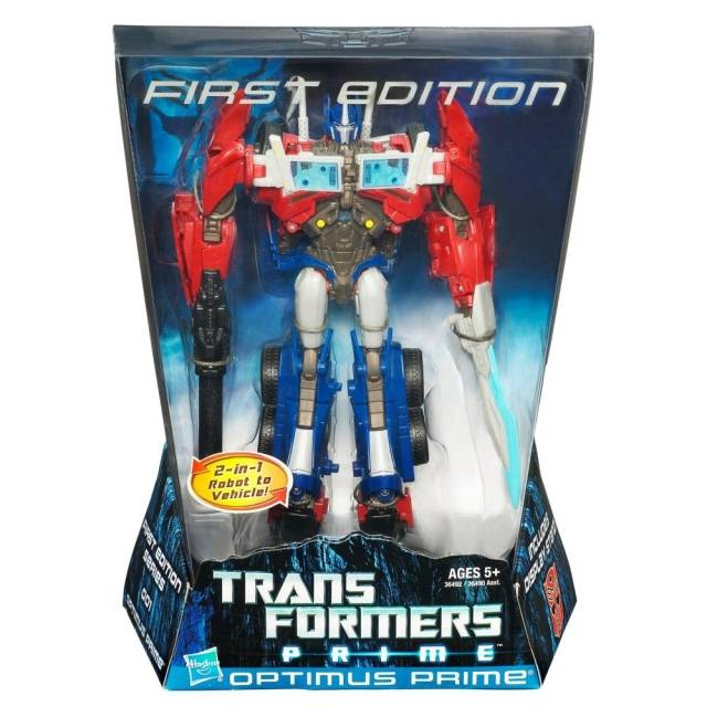 Transformers Prime Voyager Series 01 - Optimus Prime - First Edition - MISB