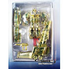 Transformers Galaxy Force - Lucky Draw Gold Galaxy Convoy - AFA 9.0