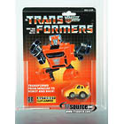 Transformers G1 Carded - Yellow Cliffjumper - AFA 75