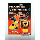Transformers G1 Carded - Yellow Cliffjumper - AFA 80