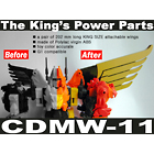 CDMW-11 The Kings Power Parts Custom Wings