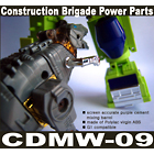 CDMW-09 - Construction Brigade Power Parts - Barrel Set