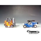 Transformers Revege of the Fallen - Walmart Exclusive - Road Rival ShowdownLoose - Deadlift and Beachcomber - 100% Complete